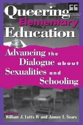 Queering elementary ed book cover
