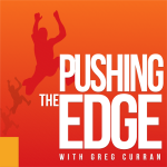 Here is the Pushing The Edge with Greg Curran Artwork