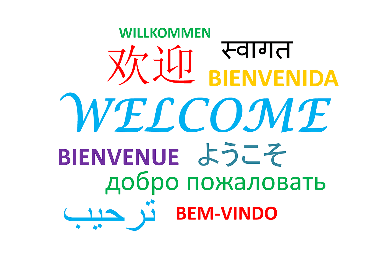 Welcome in Different Languages - Feeling Welcome at School - Pushing The Edge BlogPost