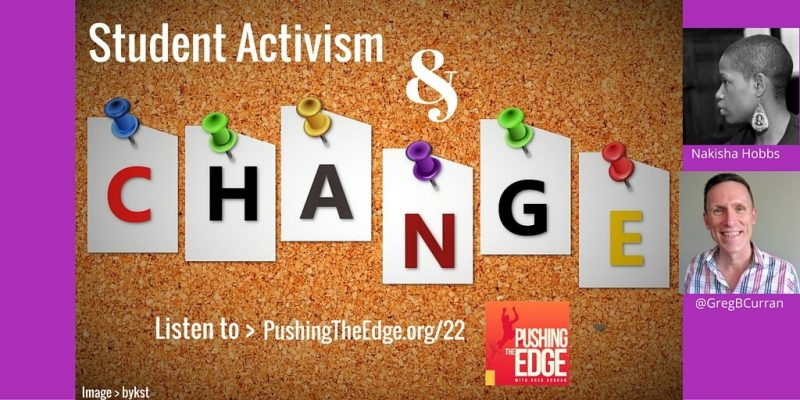 Promo for The Power of Student Activism - Pushing The Edge Podcast