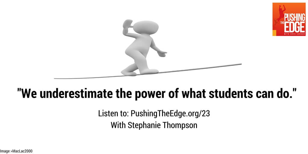 We underestimate what students can do - Student Agency in Action