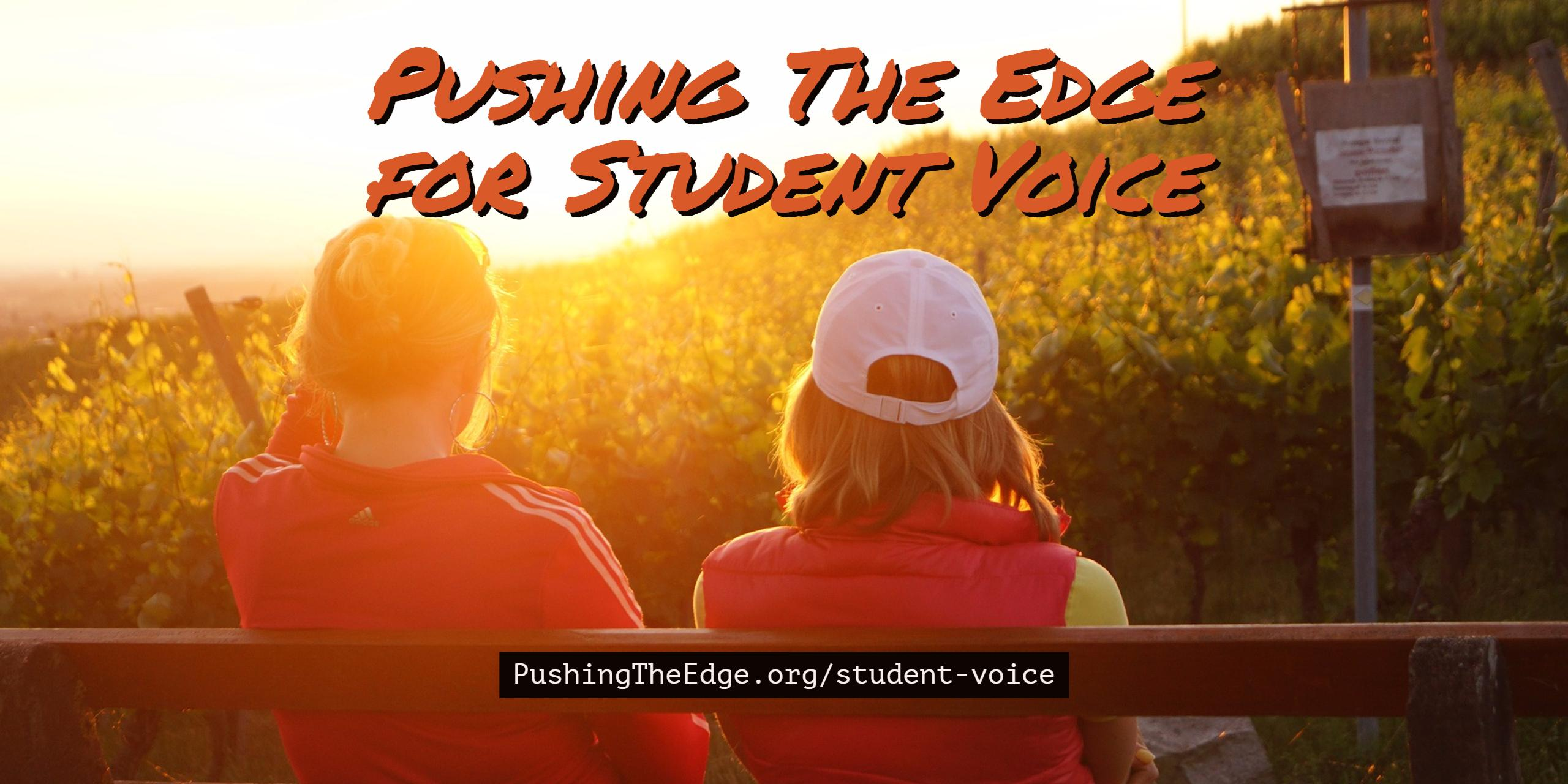 Pushing The Edge for Student Voice