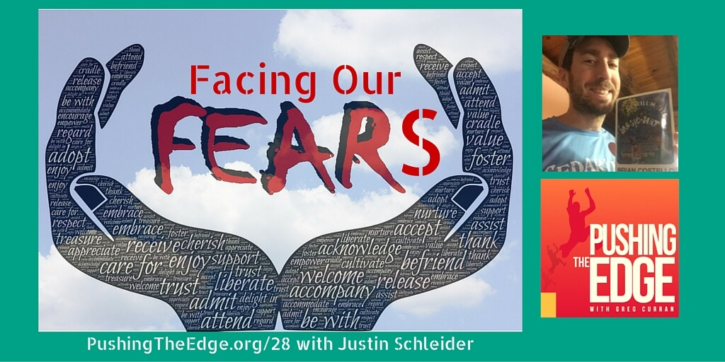 Promotion for Facing our Fears with Justin Schleider