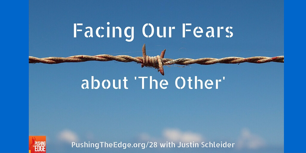 Promo for Facing our fears with Justin Schleider