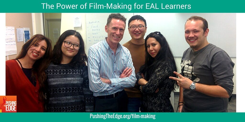 The power of film-making for EAL Learners