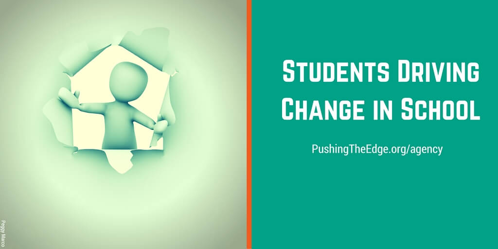 Students driving change in school