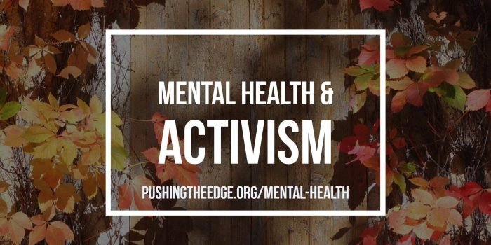 Mental Health and Activism 02