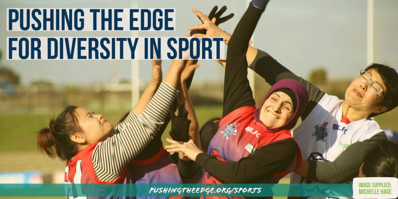 Pushing The Edge for diversity in sport