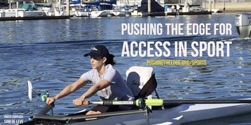 Pushing The Edge for Access in Sport - Sam De Leve