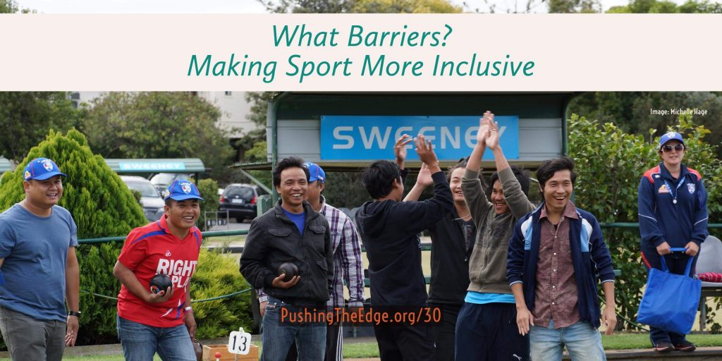 What barriers? Making sport more inclusive and welcoming for migrants