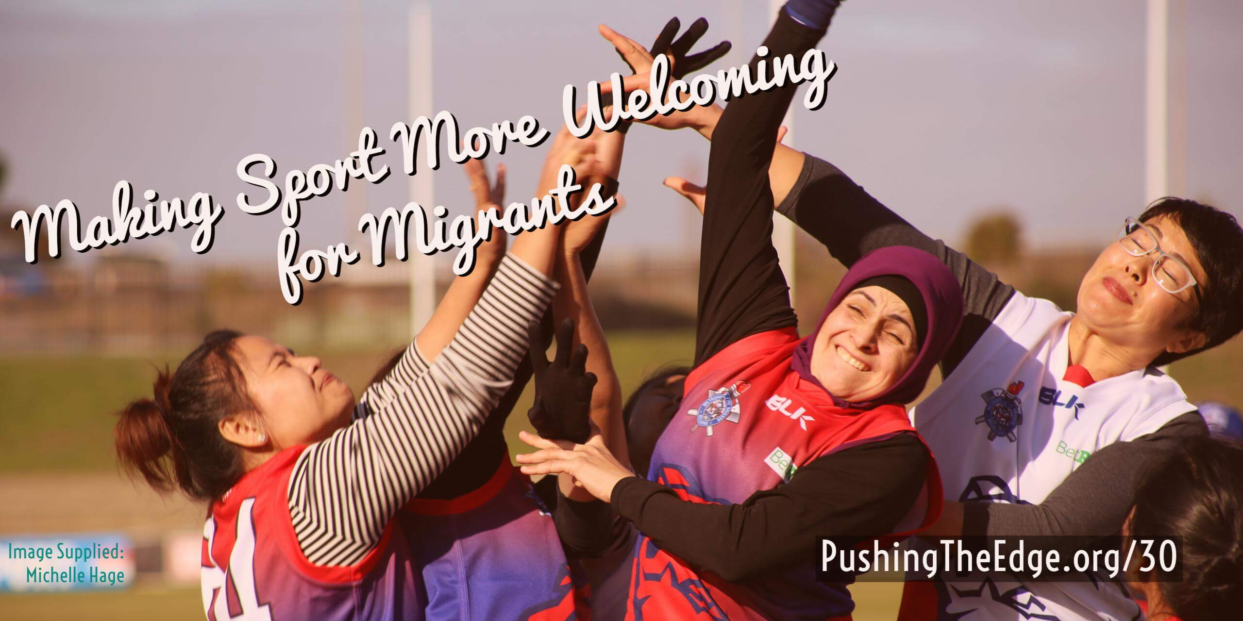 Making sport more welcoming for migrants