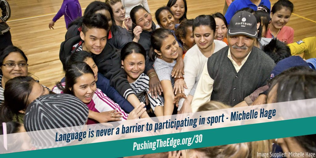 Language is never a barrier to participating in sport - Making sport welcoming for migrants