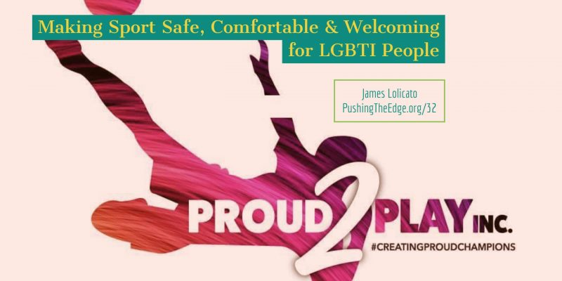Making sport safe comfortable and welcoming for LGBTI people