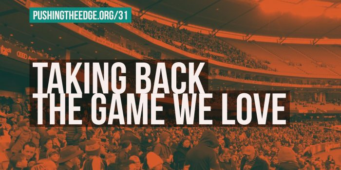 Taking back the game we love - Making Football More Welcoming with The Outer Sanctum