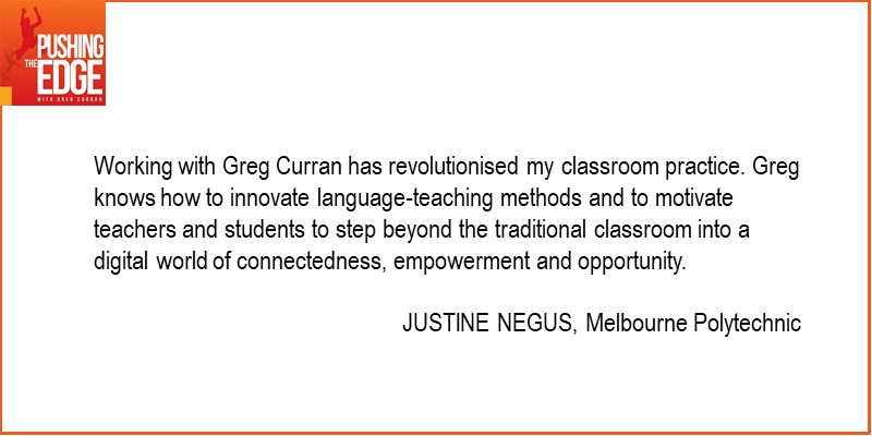Testimonial for my Digital Literacy Coaching by Justine Negus