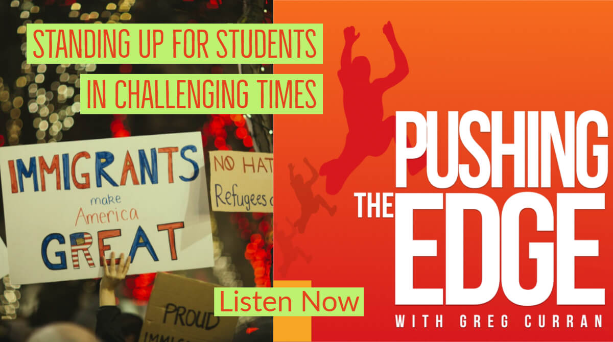 Promo for Season 5 of Podcast - Standing Up for Students in Challenging Times